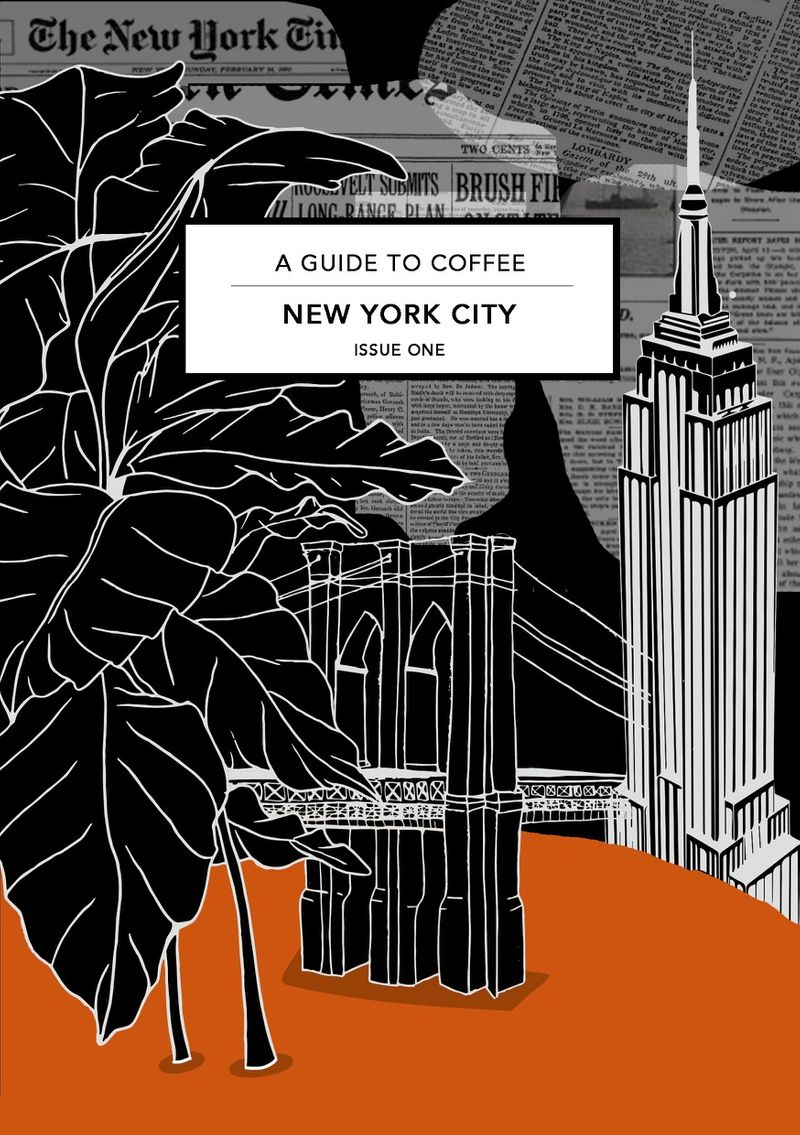 NEW YORK COFFEE GUIDE. (self initiated)