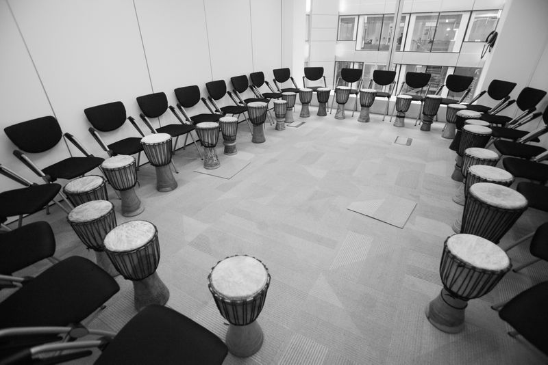 Corporate African Drumming Lesson