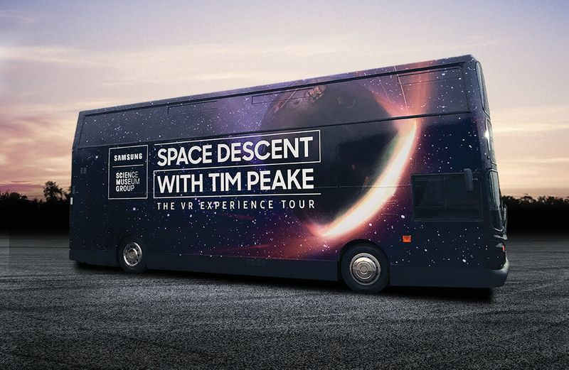 Samsung × Science Museum Space Descent with Tim Peake — The VR Experience Tour