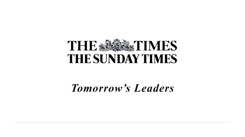 Tomorrow's Leaders - The Times and The Sunday Times
