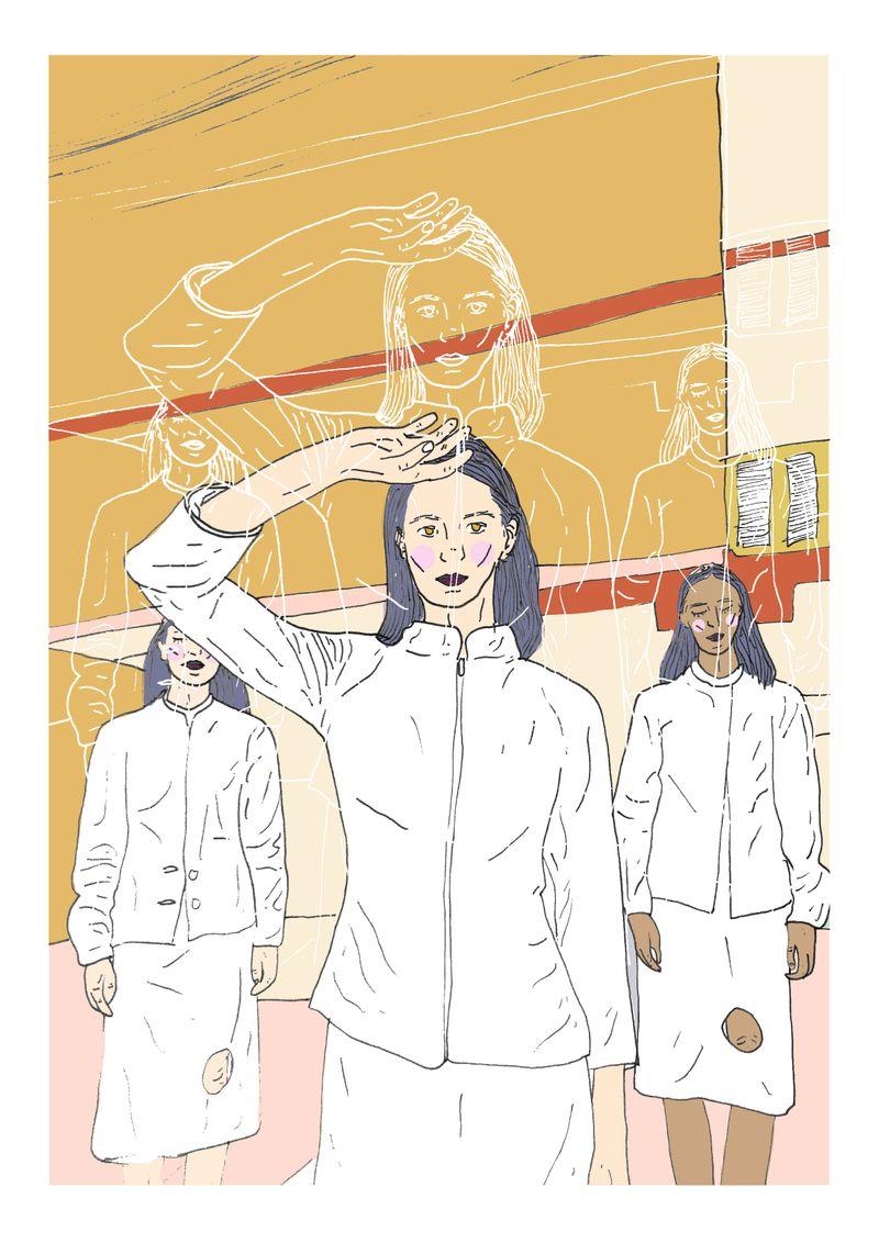 Female Artist Illustration Series