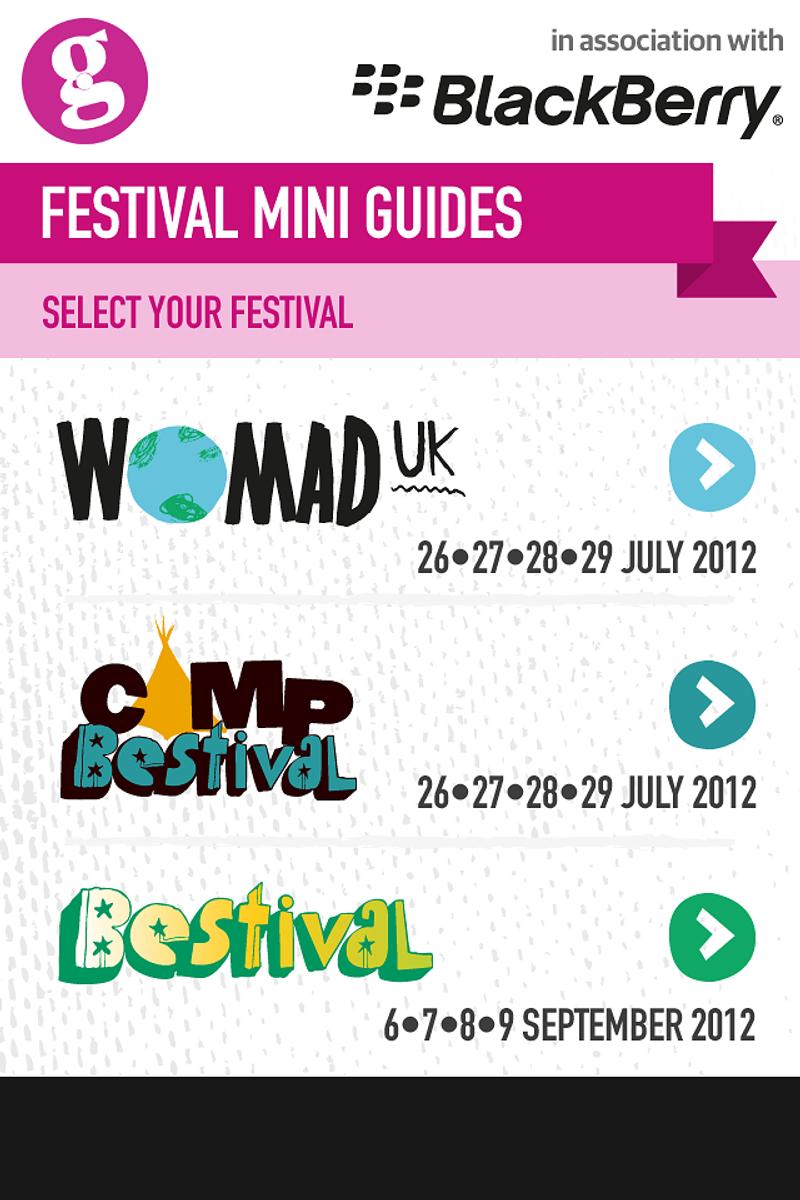 Guardian Festival Guide