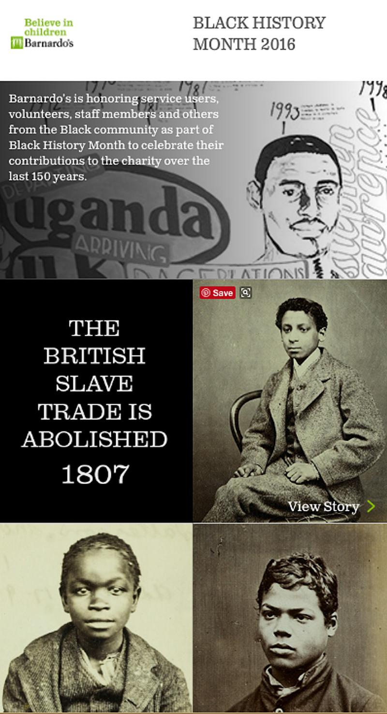 Black History Month - Barnardo's
