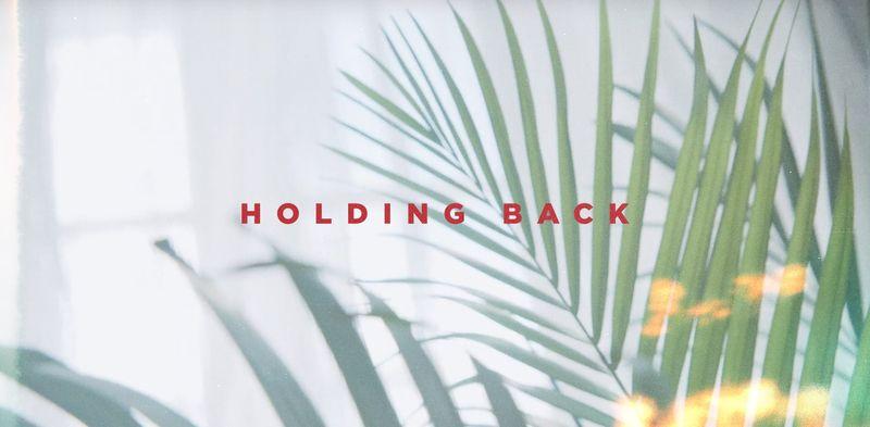 RYD 'Holding Back'