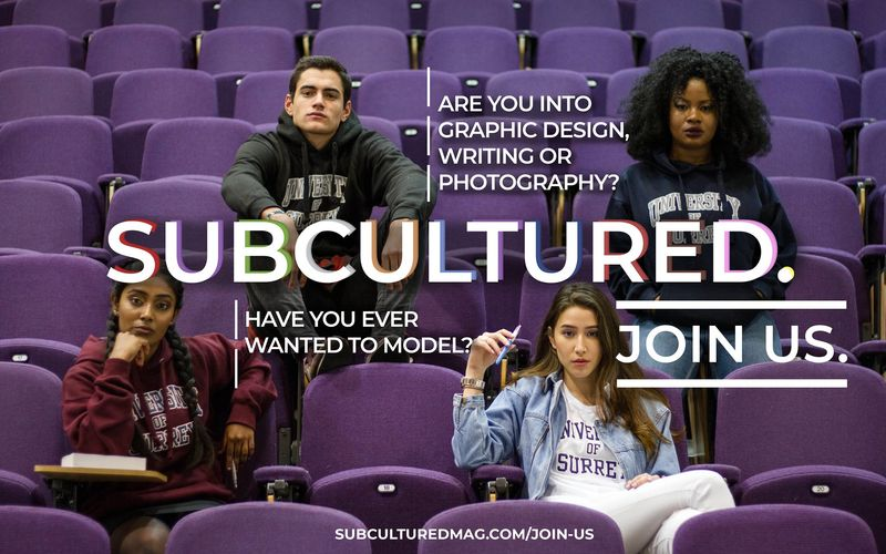 SUBCULTURED Freshers Recruitment Campaign 2018
