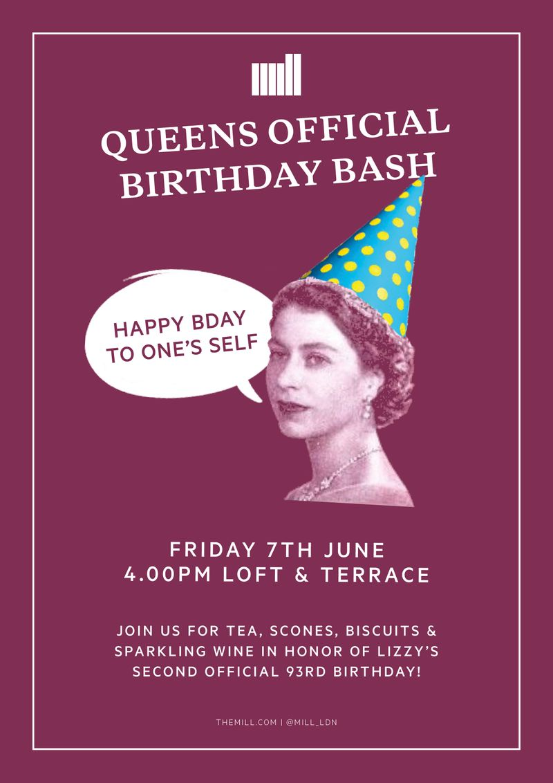 The Queens Birthday!