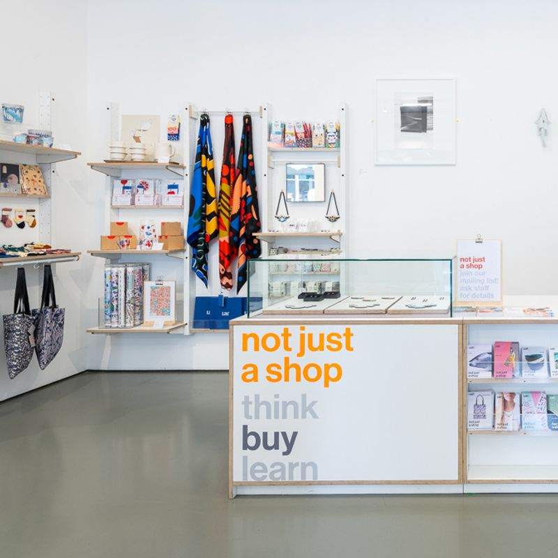 Apply to sell your work in not just a shop