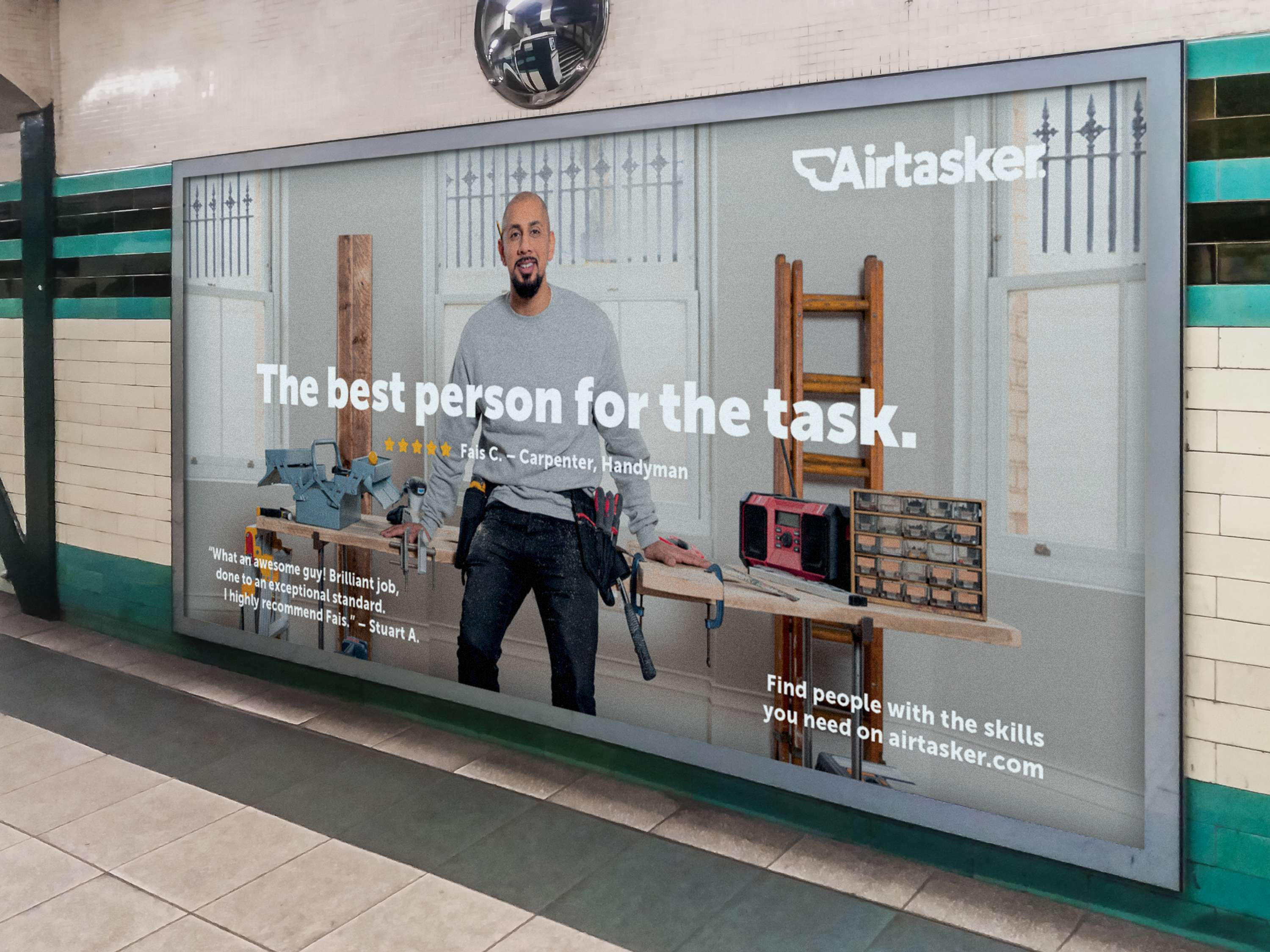 Airtasker: Outdoor Campaign | The Dots