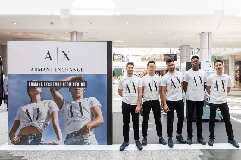 Armani Exchange Westfield Store Relaunch Event // 2019