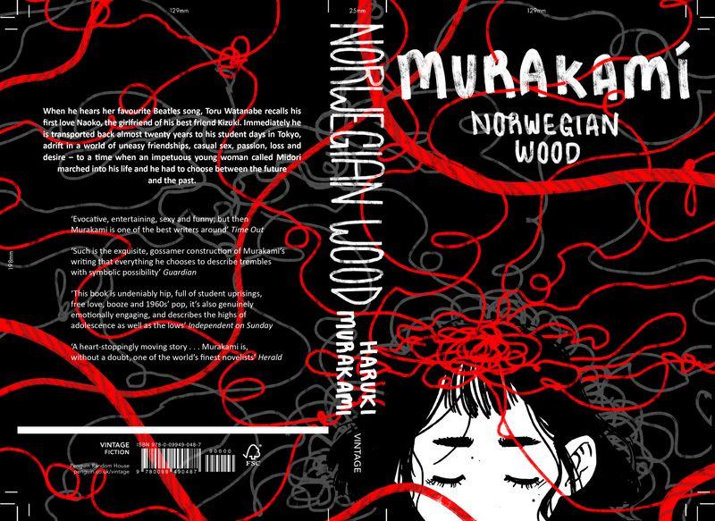 Norwegian Wood // Book Cover Design