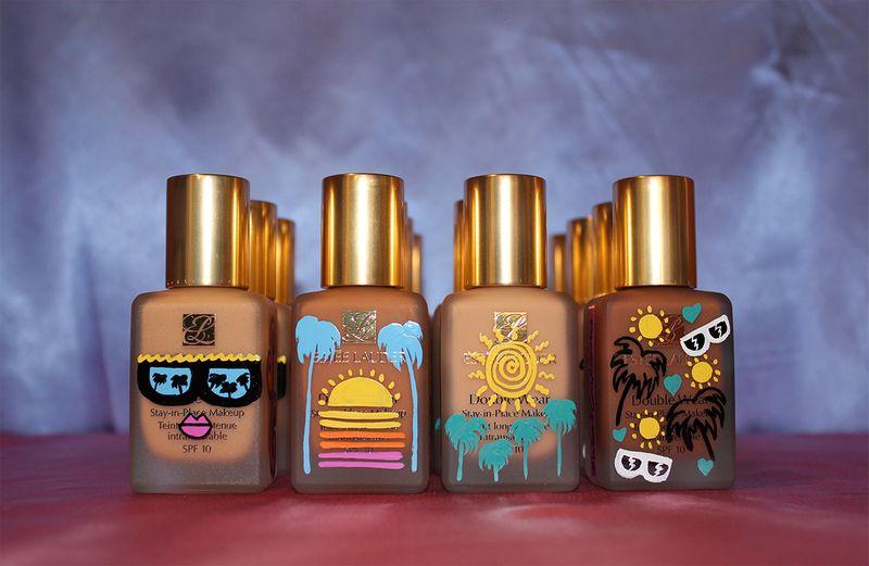 Estée Lauder #WearConfidence Gifting bottle Customisation