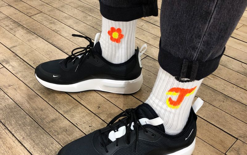 Nike Sock Customisation