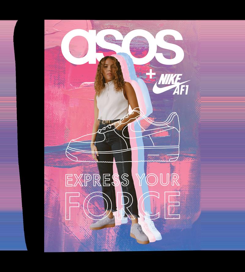 ASOS + NIKE AF1