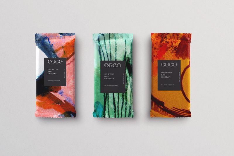 Speculative Packaging Design for Coco Chocolatier