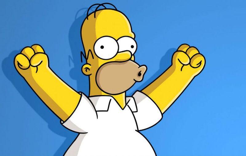 The Simpsons promo