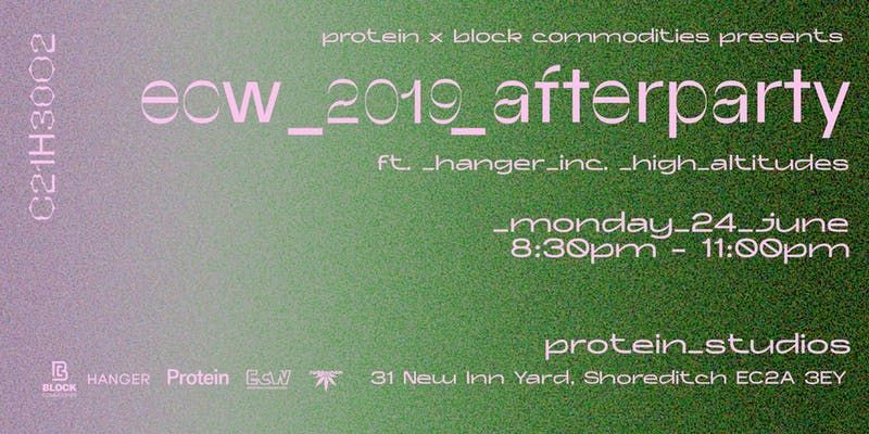 European Cannabis Week after party at Protein Studios