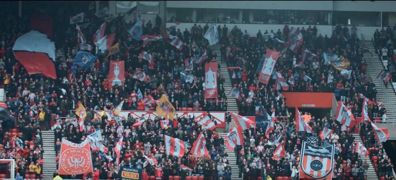 The Roker End - Sunderland AFC
