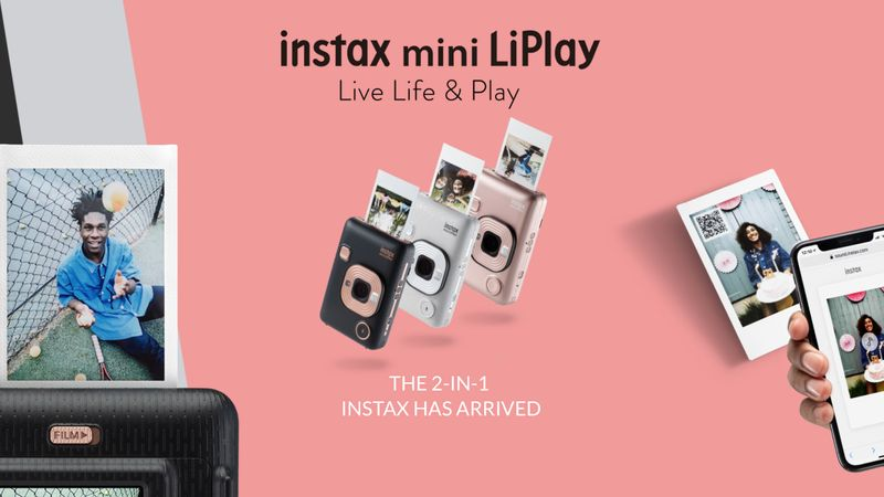 Fujifilm Instax mini LiPlay Campaign / Global