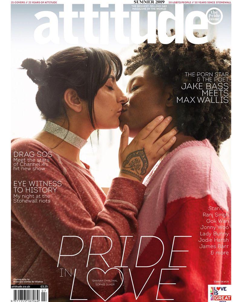 Attitude magazine - Pride in Love