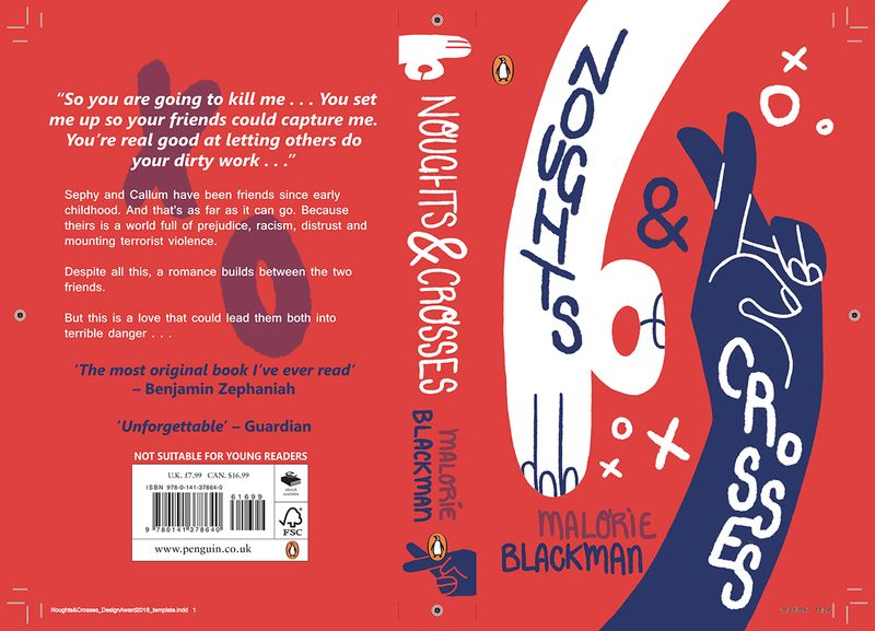 Noughts&Crosses // Book Cover Design
