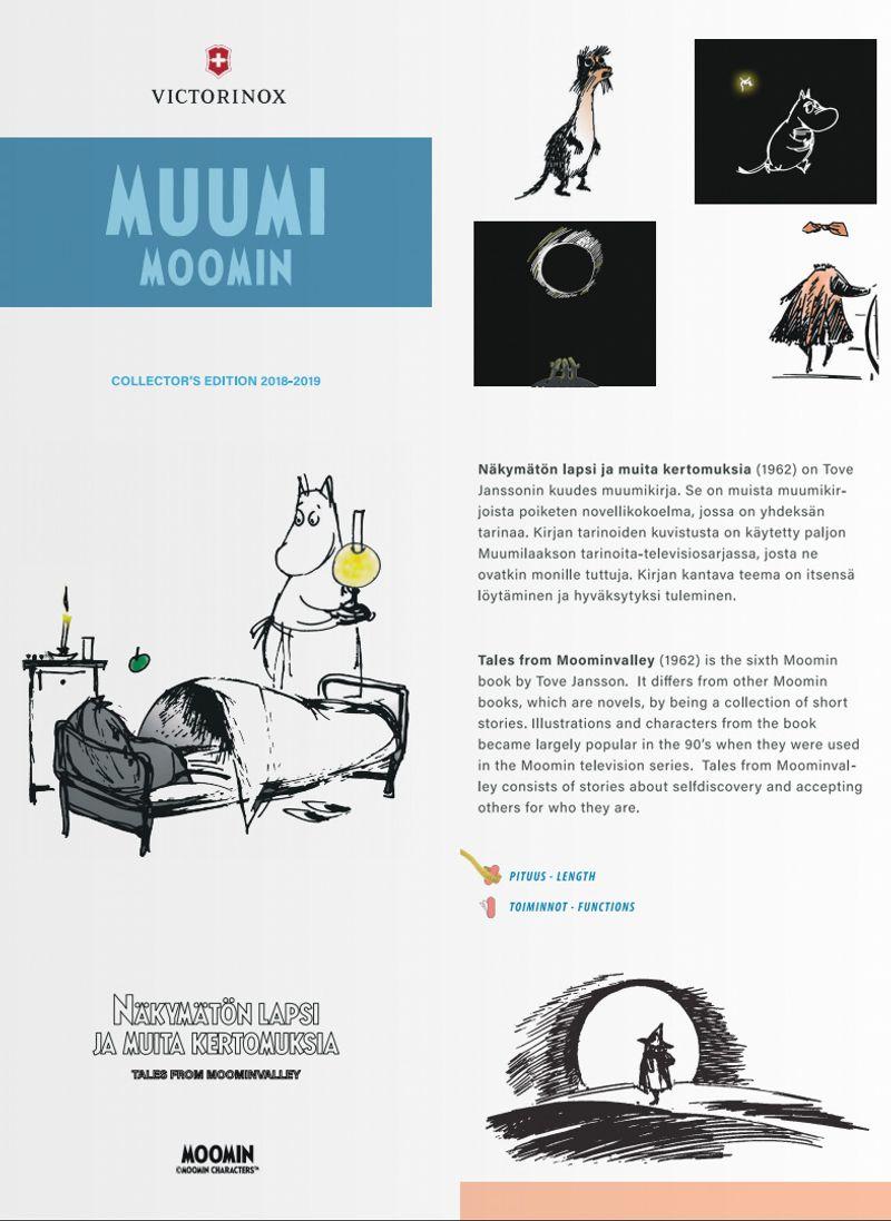 Victorinox Moomin pocket tools and kitchen knives