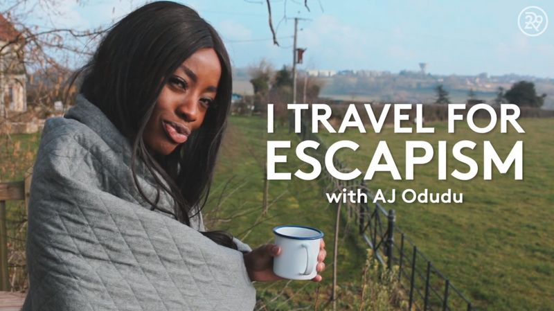 I Travel For Escapism - with Aj Odudu for Refinery29