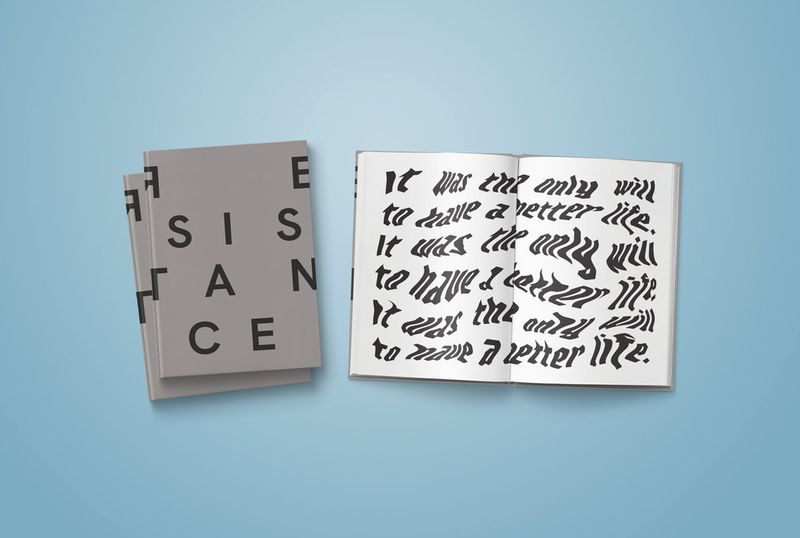 Resistance Typography Book