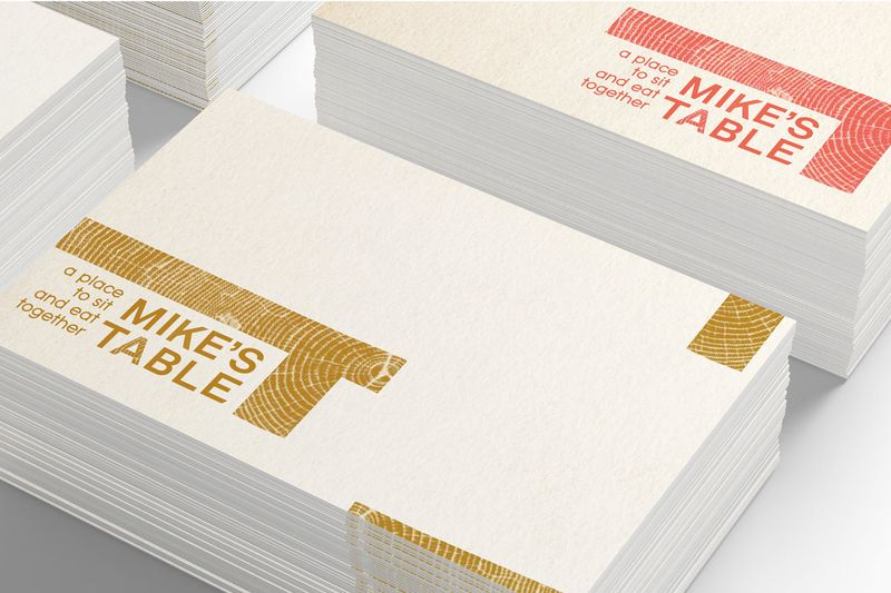 Mike's Table: Brand Identity Design