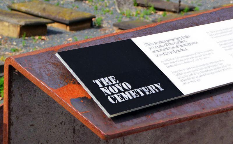 The Novo Cemetery: Interpretation Board