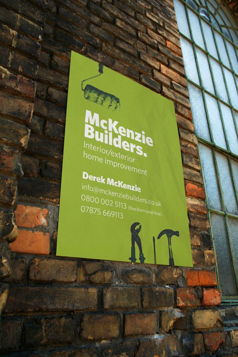 McKenzie Builders: Visual Identity Design & Application