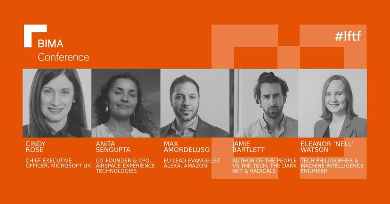 BIMA Conference: Speakers Announced for Lessons from the Future
