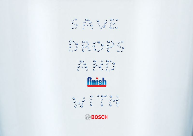 Save drops and FInish with Bosch