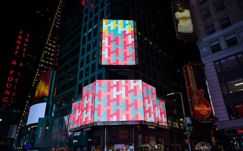 Harambeans on NYC Times Square