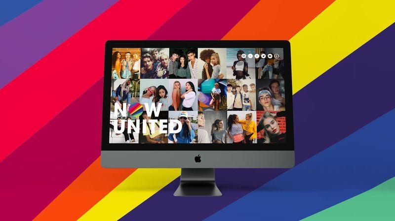 Now United Website
