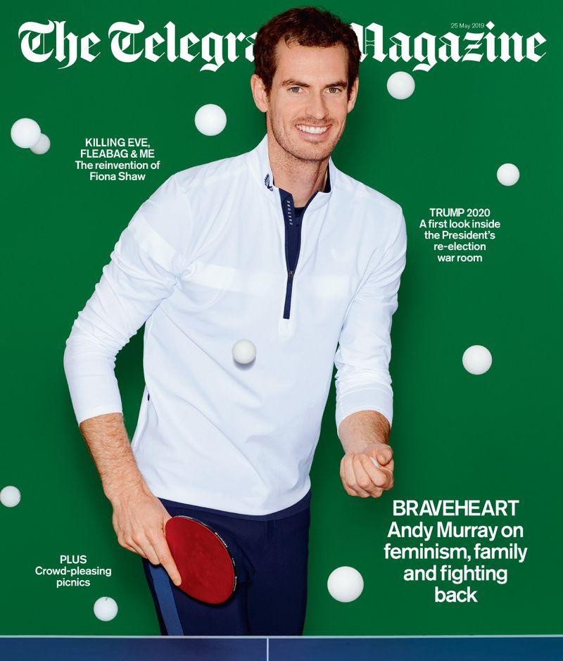 Sir Andy Murray x Telegraph Magazine x Neil Gavin
