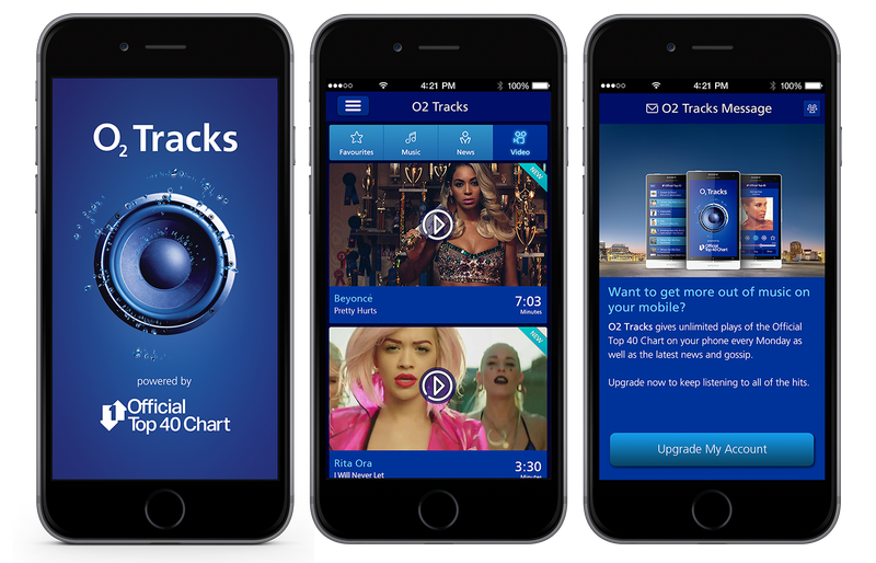O2 Tracks -  Brand and Product Design