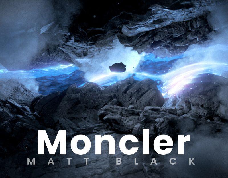 Moncler - Matt Black
