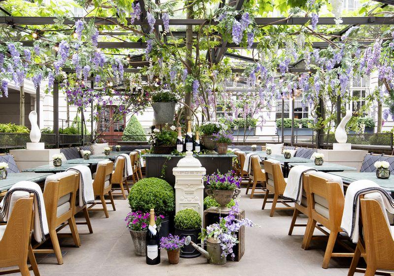 Nyetimber Secret Garden, Rosewood London