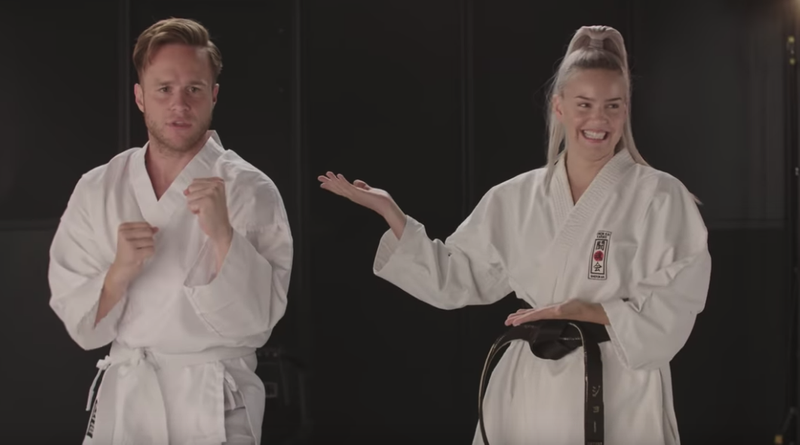 Karate with Anne-Marie