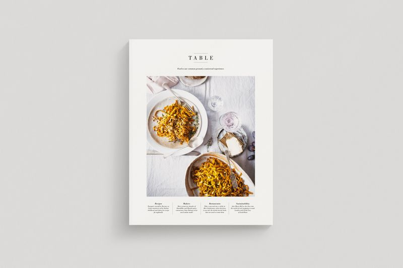 Volume 01 - Table Magazine