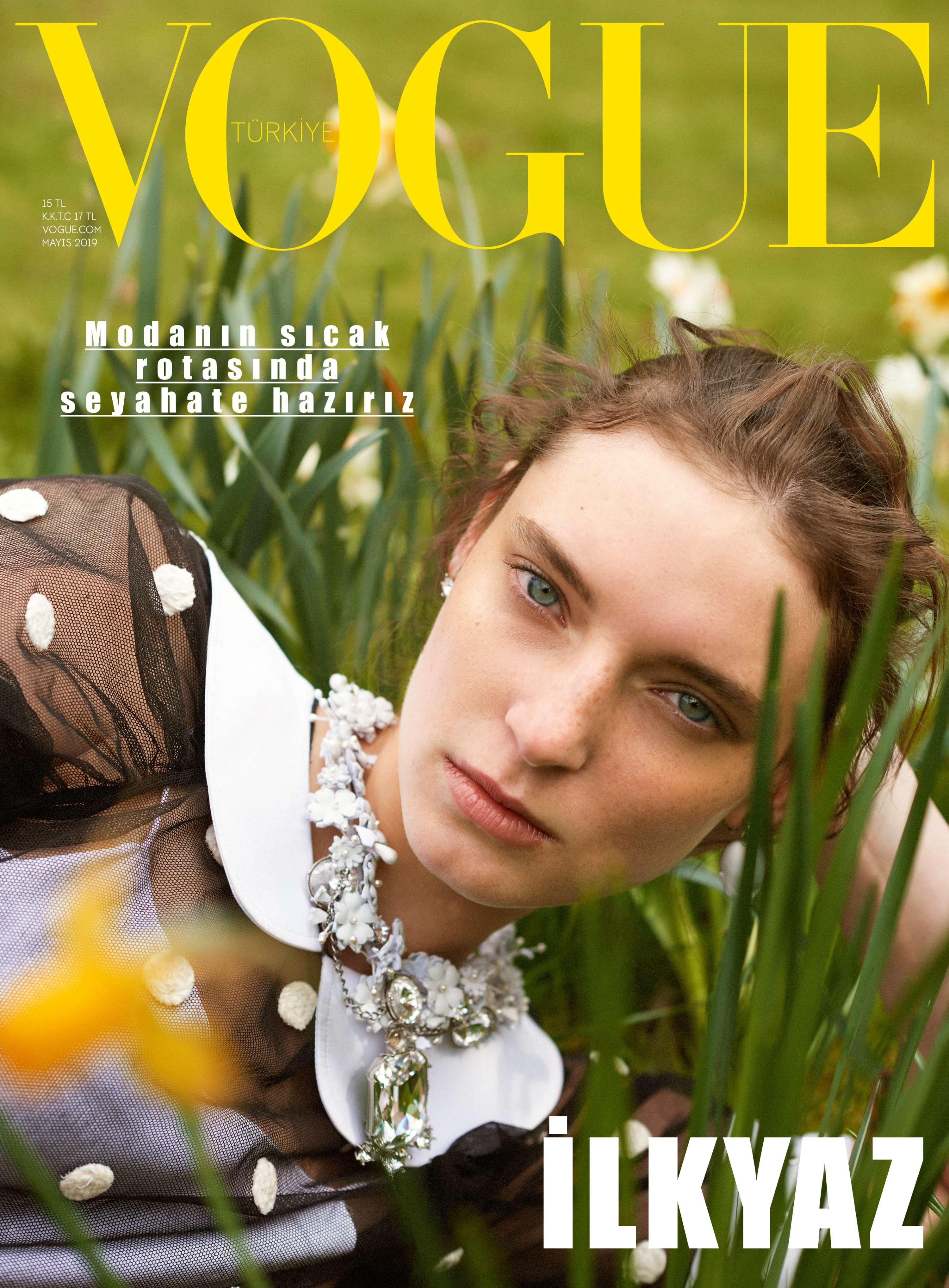 Vogue Turkiye Spring 5 Cover Story by Wai Lin Tse  The Dots
