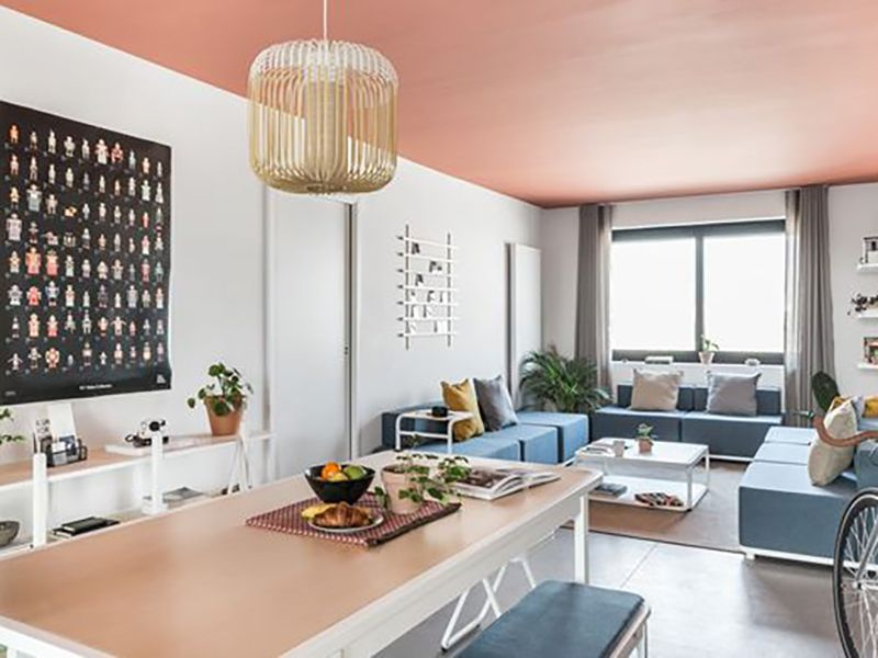 Parisian coliving space highlights the joie de vivre of a new lifestyle trend