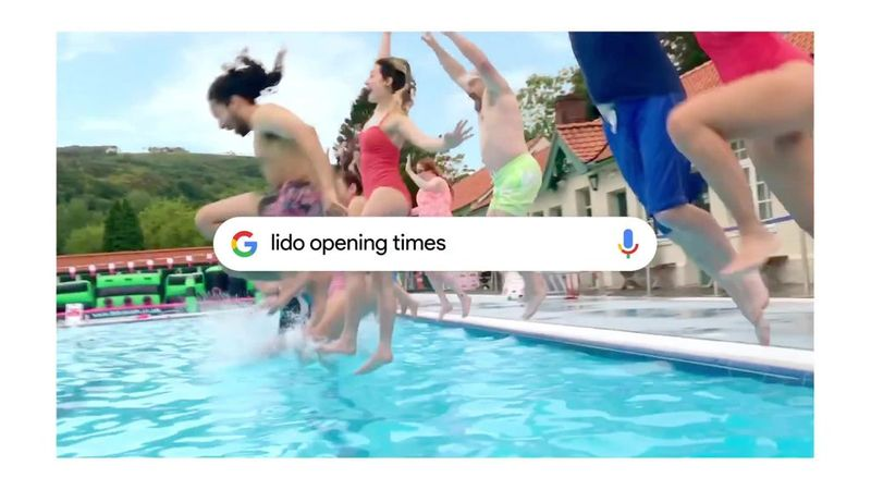 """Google """"Make the most of summer, with a little help from Google"""