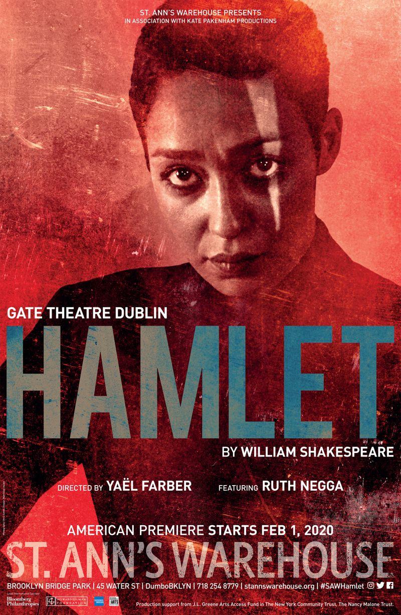 Hamlet - NYC Key Art - Ruth Negga