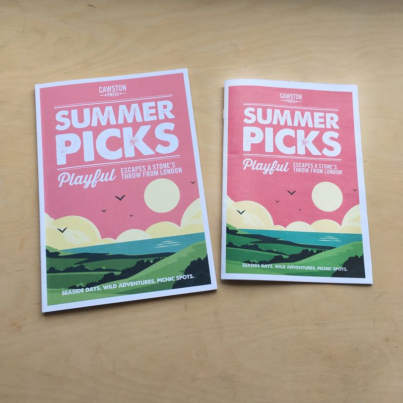 'Summer Picks' Magazine for Cawston Press