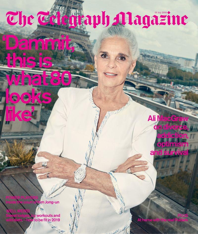 Ali MacGraw x Telegraph Magazine x Arnaud Pyvka