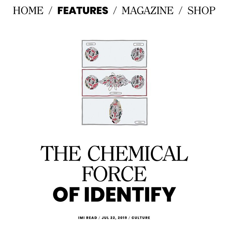 tmrw mag: The Chemical Force of Identity