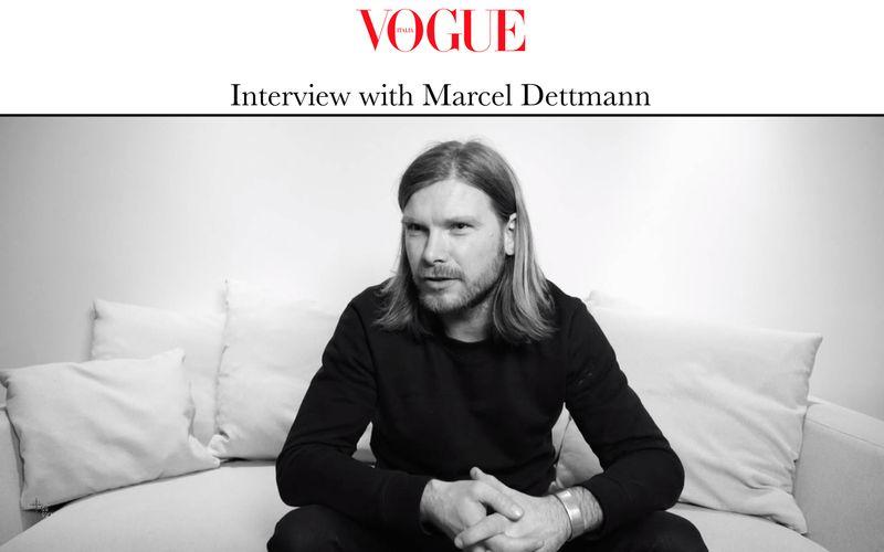 Marcel Dettmann x Vogue