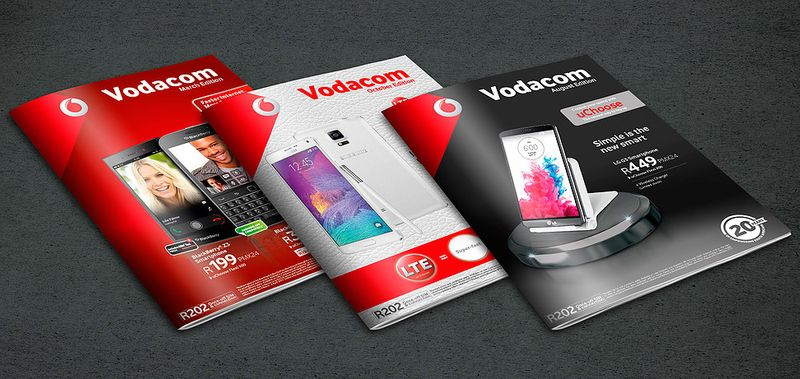 Vodacom monthly magazine