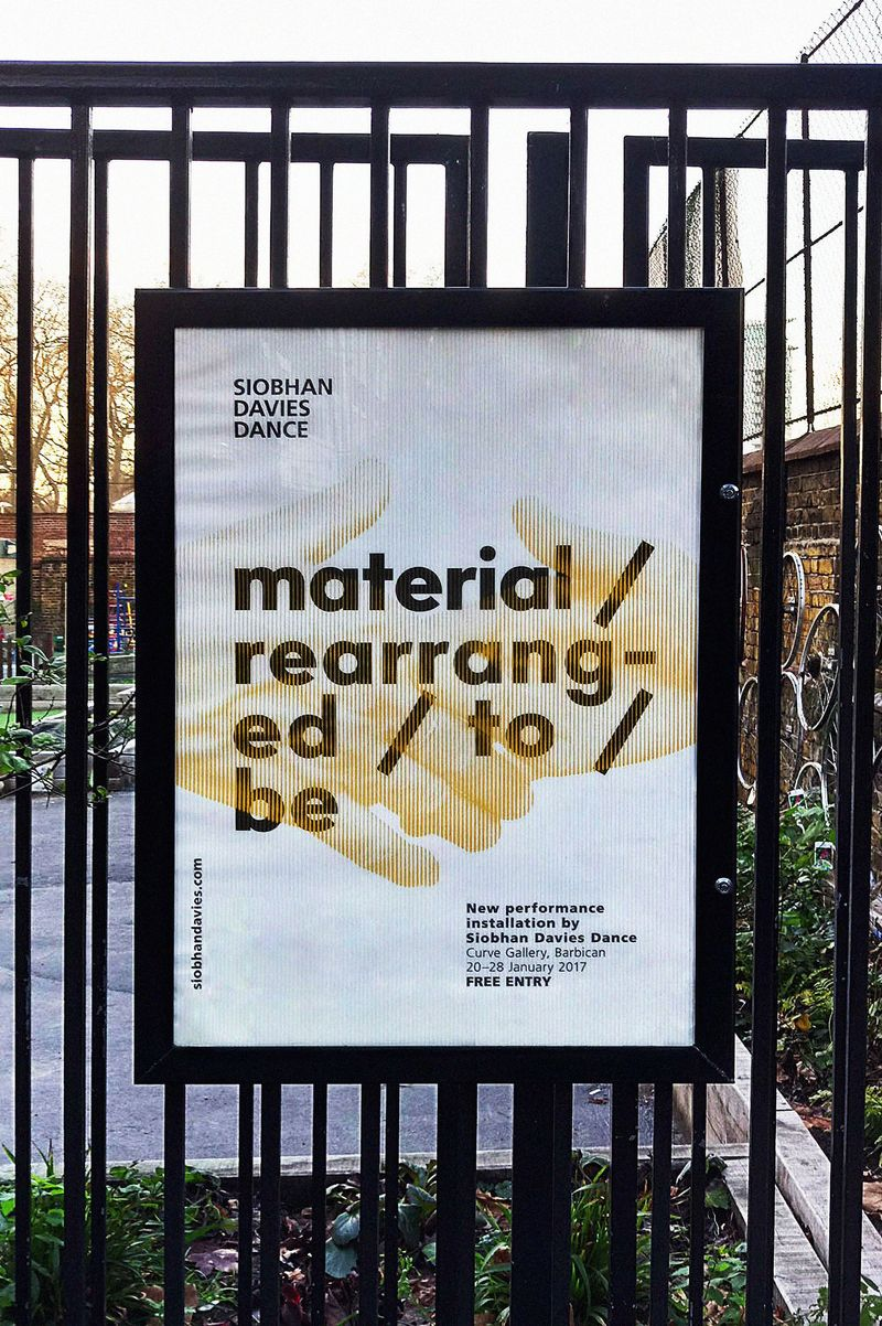material / rearranged / to / be